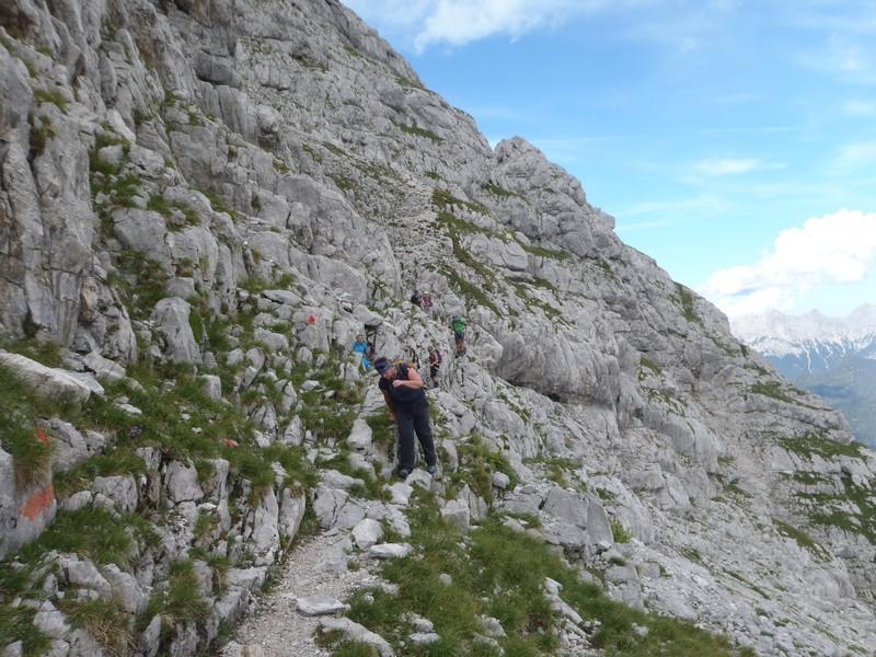 Abstieg vom Hinterhorn