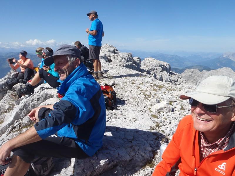 Am Gipfel des Ochsenhorn 2511 m (Freudestrahlend)