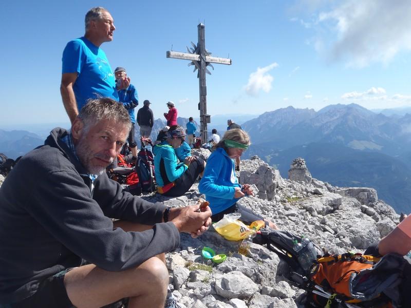 Am Gipfel des Ochsenhorn 2511 m