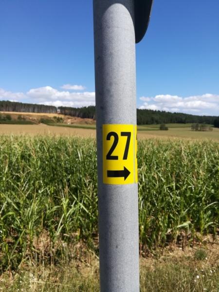 Radtour Oberpfalz Nr. 27 Falkenstein Michelsneukirchen