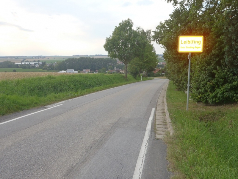 Abfahrt nach Leiblfing