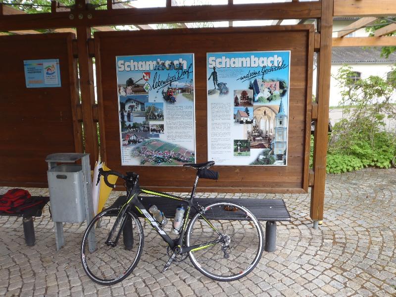 Geschichtstafel von Schambach
