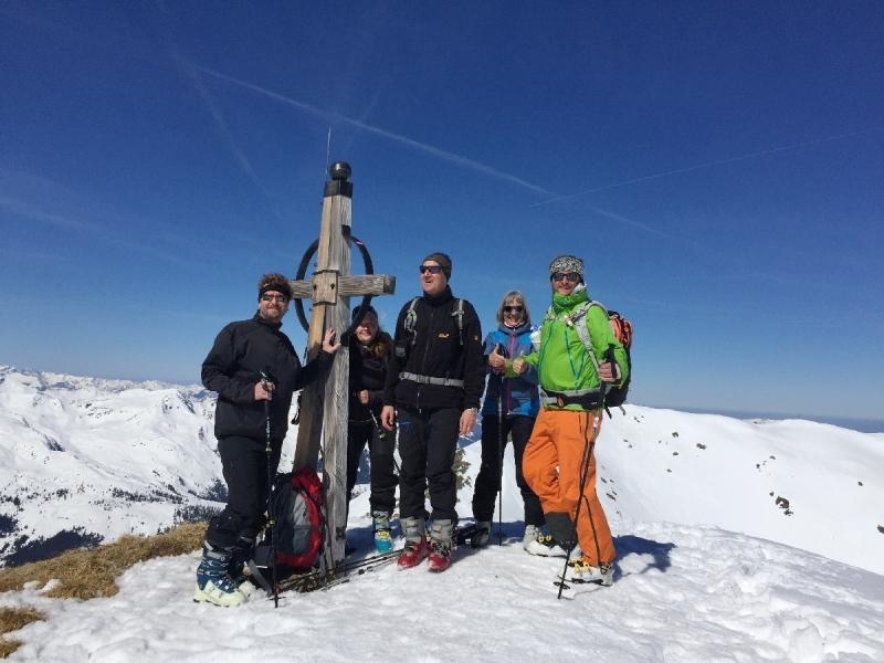 Auf der Aleitenspitze