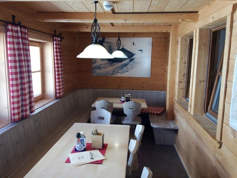 In der gemütlichen Hütte