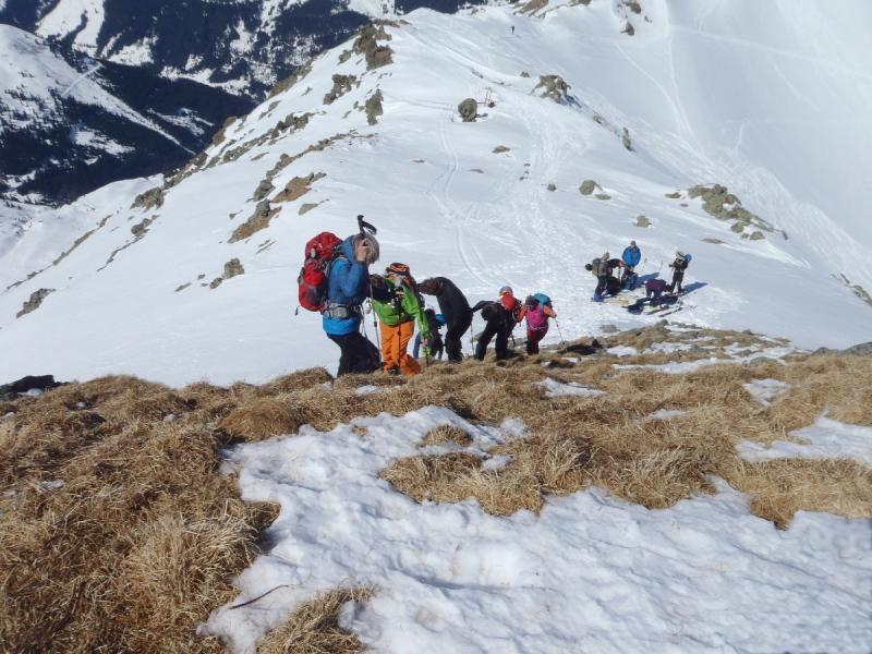 Aufstieg zur Aleitenspitze