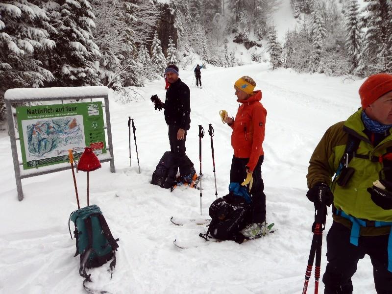 Skitour Dürrnbachhorn 28.12.2017