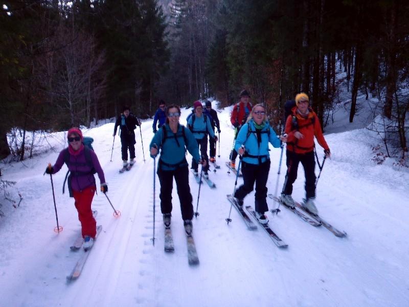 Skitour Fellhorn / Straubinger Haus 06.01.2018