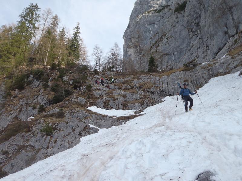 Abstieg aus dem Alpeltal