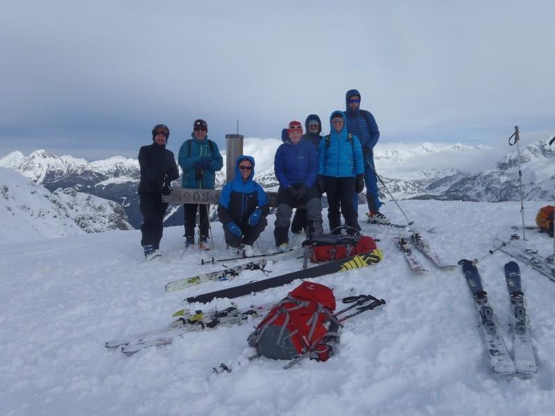 Skitouren bei der Südwiener Hütte 17.02.18