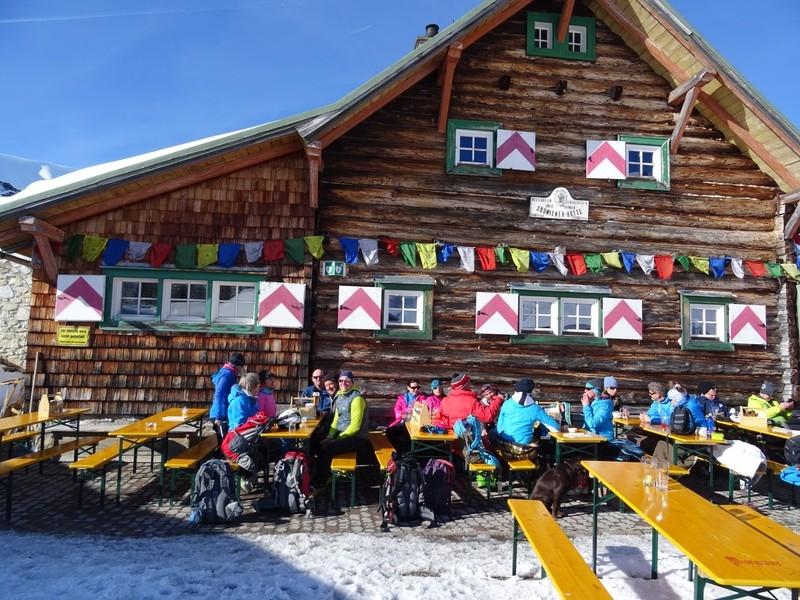 Skitour Südwiener Hütte 2. Teil 24. - 25.03.18