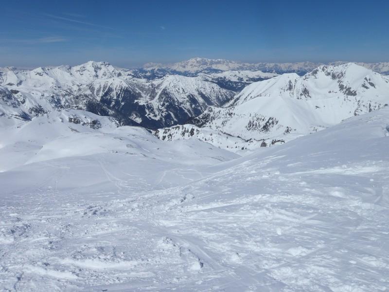 Gipfelschau vom Pleisslingkeil
